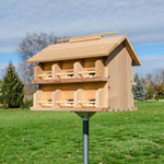 The Ultra Purple Martin House